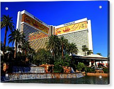 The Mirage Acrylic Print