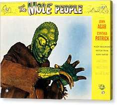 The Mole People, 1956 Acrylic Print by Everett