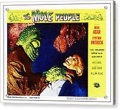 The Mole People, On Right Nestor Paiva Acrylic Print by Everett