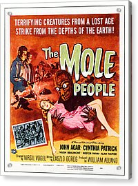 The Mole People, Upper Left Acrylic Print by Everett