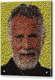 The Most Interesting Mosaic In The World Acrylic Print by Paul Van Scott