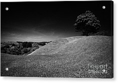 The Mound Of Down Downpatrick County Down Northern Ireland Acrylic Print by Joe Fox