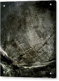 Acrylic Print featuring the digital art The Mountain Pass by Jean Moore