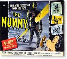 The Mummy, As The Mummy Christopher Acrylic Print by Everett