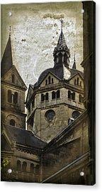 The Munsterkerk Roermond Acrylic Print by Mary Machare
