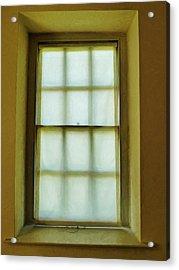 The Mustard Window Acrylic Print by Steve Taylor