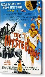 The Mysterians, 1959 Acrylic Print by Everett