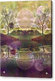 The Mystery Of Dawn Acrylic Print