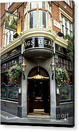 The Nags Head Pub Acrylic Print by Anne Gordon