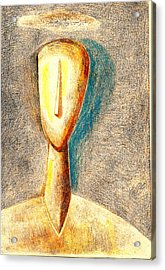 The Nameless And Faceless Acrylic Print by Al Goldfarb