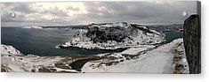 The Narrows - St. John's Harbour Acrylic Print by Max Buchheit Photography