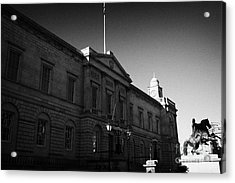 The National Archives Of Scotland General Register House Edinburgh Scotland Uk United Kingdom Acrylic Print by Joe Fox