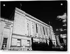 The National Library Of Scotland Edinburgh Scotland Uk United Kingdom Acrylic Print by Joe Fox