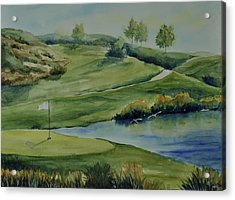The Nature Of Golf At Tpc Acrylic Print