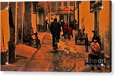 Acrylic Print featuring the photograph The Neighborhood by Lydia Holly