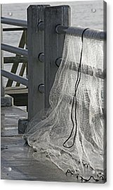 The Net Acrylic Print
