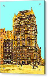 The Netherland Hotel In New York City In 1910 Acrylic Print by Dwight Goss