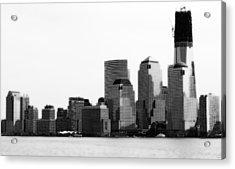 Acrylic Print featuring the photograph The New Skyline  by Raymond Earley