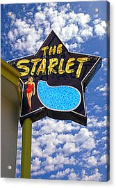 The New Starlet Acrylic Print by Ron Regalado