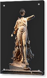 The Nike Of Paeonios - Ancient Olympia Acrylic Print by Constantinos Iliopoulos