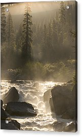 The North Fork Of The Stanislaus River Acrylic Print by Phil Schermeister