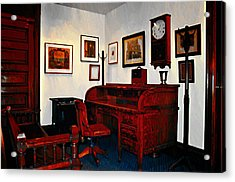 The Office Acrylic Print by Bill Cannon