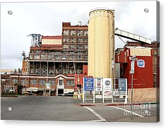 The Old California And Hawaii Pure Cane Sugar Company In Crockett California Acrylic Print by Wingsdomain Art and Photography
