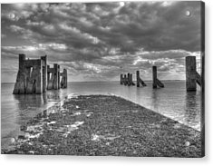 The Old Harbour Acrylic Print by Kevin Bates