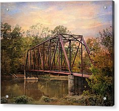 The Old Iron Bridge Acrylic Print by Jai Johnson