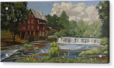 The Old Mill At Shoulderbone Acrylic Print