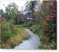 The Old Mill Stream Acrylic Print by Christian Mattison