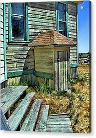 The Old Schoolhouse Acrylic Print by Bonnie Bruno