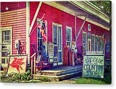 The Olde Country Store Acrylic Print by Kathy Jennings