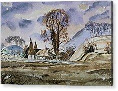 The Olde Oast House Acrylic Print by Rob Hemphill