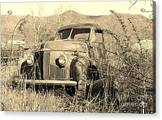 Acrylic Print featuring the photograph The Ole Studebaker by Laurinda Bowling