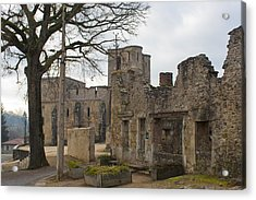 The Once Grand Town Of Oradour Acrylic Print by Georgia Fowler