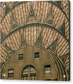 The One And Only Chrysler Bldg. - New Acrylic Print