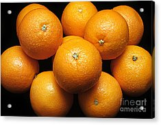 The Oranges Acrylic Print by Andee Design