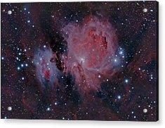 The Orion Nebula M42 Acrylic Print