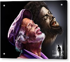 The Other Side-gil Scott Finally Going Home Acrylic Print by Reggie Duffie