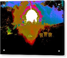The Other Side Acrylic Print by HollyWood Creation By linda zanini