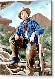 The Ox-bow Incident, Henry Fonda, 1943 Acrylic Print by Everett
