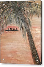 The Paddlers Acrylic Print
