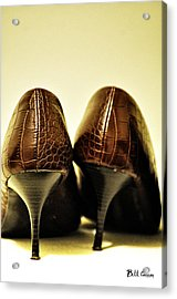 The Pair Acrylic Print by Bill Cannon