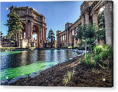 The Palace Of Fine Arts Acrylic Print by Everet Regal