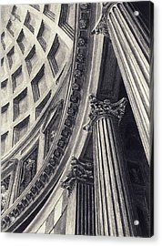 The Pantheon Acrylic Print by Norman Bean