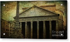 The Pantheon's Curse Acrylic Print by Lee Dos Santos
