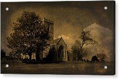 The Parish Church Of St Andrew Texture Acrylic Print