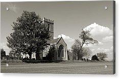 The Parish Church Of St Andrewbw Acrylic Print