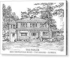 The Parlor Tallahassee Florida Acrylic Print